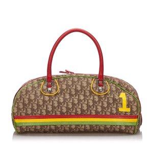 Dior Dior Oblique Rasta Handbag