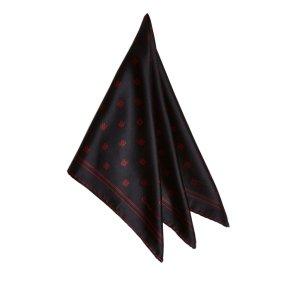 Dior Bufanda negro Seda