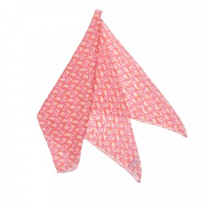 Dior Écharpe rosé soie