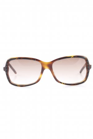 Dior Angular Shaped Sunglasses abstract pattern casual look