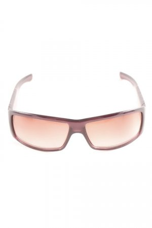 Dior Angular Shaped Sunglasses dark violet casual look