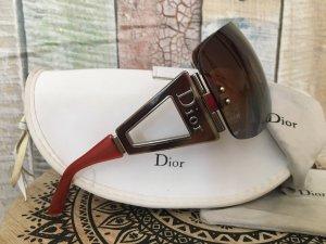 Dior Occhiale marrone-rosso-carminio
