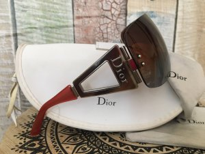 Dior Glasses brown red-carmine