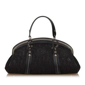 Dior Floral Oblique Handbag