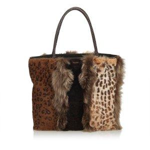 Dior Fur Tote Bag