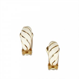 Dior Gold-Tone Clip On Earrings