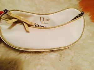 Dior Mini sac blanc-doré