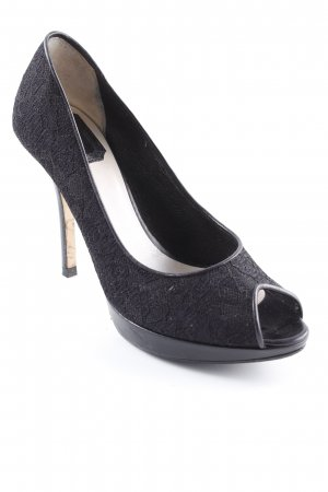 Dior Tacco alto nero elegante