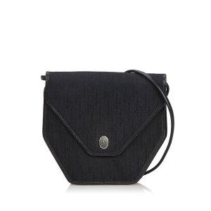 Dior Honeycomb Canvas Crossbody Bag