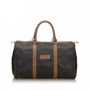 Dior Honeycomb Coated Canvas Duffle Bag