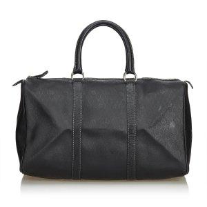 Dior Honeycomb Leather Duffle Bag