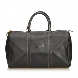 Dior Honeycomb Leather Duffle Bag