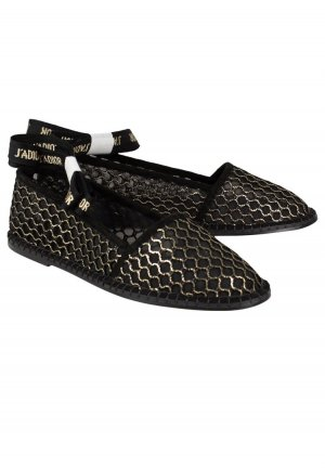 Dior Alpargatas negro-color oro