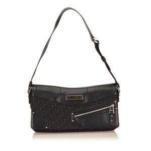 Dior Jacquard Diorissimo Shoulder Bag