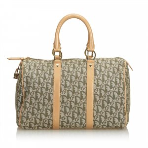 Dior Jacquard Oblique Boston Bag