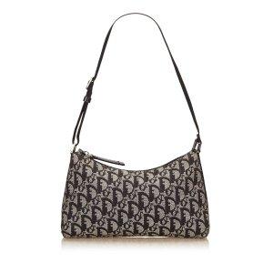 Dior Jacquard Oblique Shoulder Bag