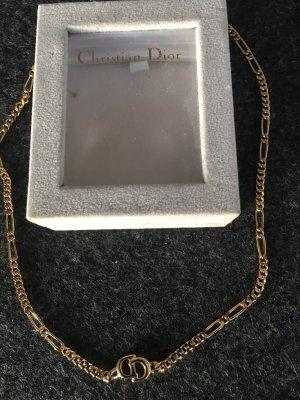 Christian Dior Chaîne à maillons doré