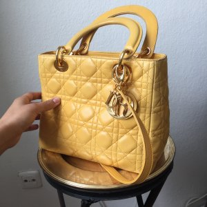 DIOR Lady Bag gelb / yellow Preis VB