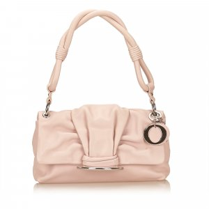 Dior Leather Bow Flap Bag