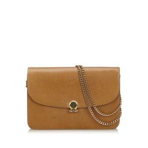 Dior Leather Chain Crossbody Bag