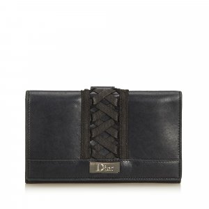 Dior Leather Corset Long Wallet