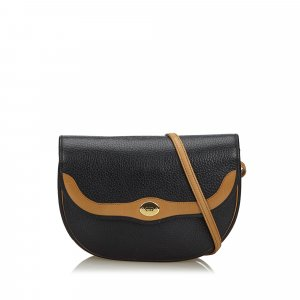 Dior Crossbody bag black leather