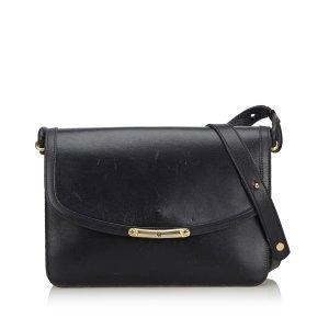 Dior Gekruiste tas zwart Leer