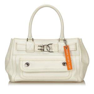 Dior Leather Flight Handbag