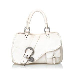 Dior Leather Gaucho Saddle Bag