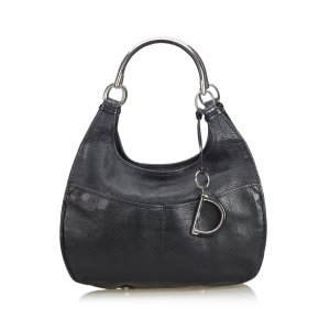 Dior Leather Hobo Bag