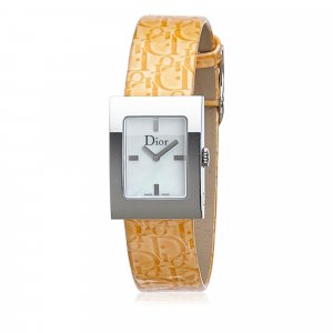Dior Leather Malice Square Watch