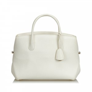 Dior Leather Open Bar Handbag