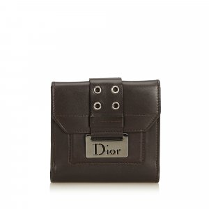 Dior Leather Small Wallet
