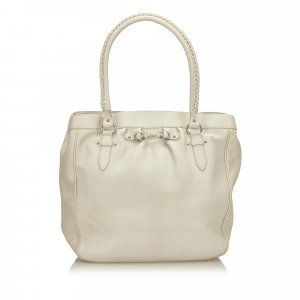 Dior Leather Tote Bag