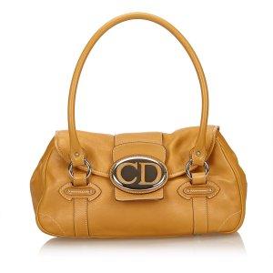 Dior Leather Vintage Traveler Bag