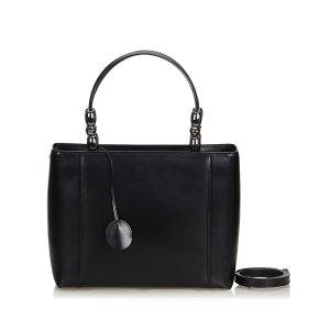 Dior Satchel black leather