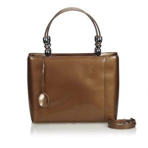 Dior Satchel brown imitation leather