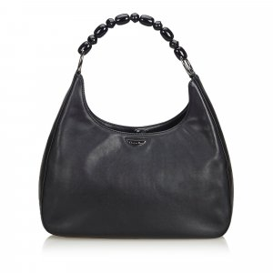 Dior Malice Pearl Leather Shoulder Bag