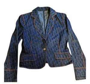 Dior Monogram Denim Jeans Jacke Gr.38 vintage