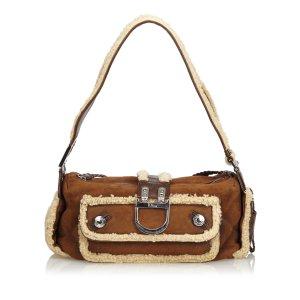 Dior Mouton Flight Shoulder Bag