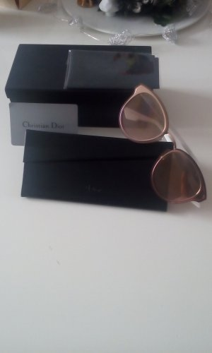 Dior night Fall rose-Gold weiß sonnenbrille neu