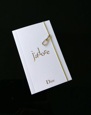 Dior Notizbuch+ Dior Parfumminiatur 5ml