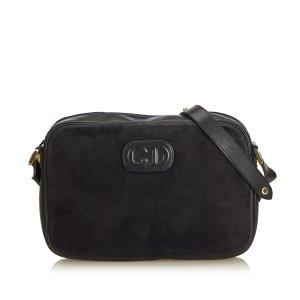 Dior Nubuck Leather Crossbody Bag