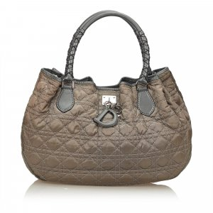 Dior Nylon Cannage Handbag