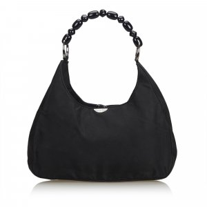 Dior Nylon Malice Pearl Shoulder Bag