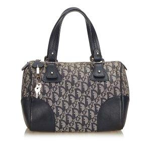 Dior Oblique Canvas Boston Bag