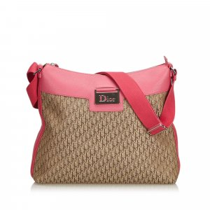 Dior Oblique Canvas Crossbody Bag