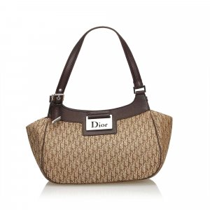 Dior Oblique Canvas Handbag