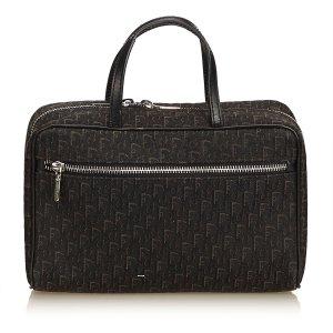 Dior Oblique Canvas Handbag