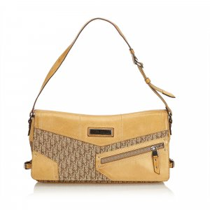 Dior Oblique Canvas Shoulder Bag